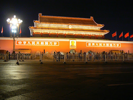 Travel to Beijing: visit the Tienanmen gate