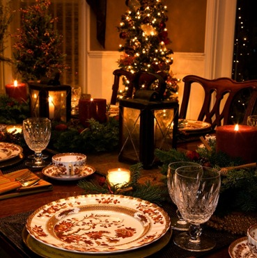 tavola per natale-