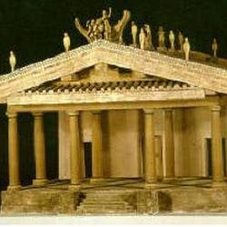 01 - Reconstruccion de templo etrusco