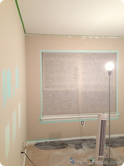 Painting a turquoise room