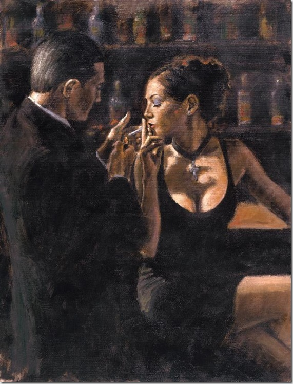 Fabian Perez 1967 - Argentine Figurative painter - Reflections of a Dream - Tutt'Art@ (15)