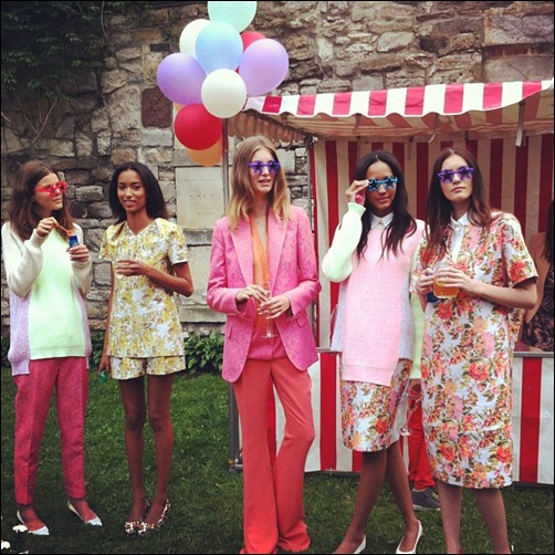 stella-mccartney-garden-party-spring-2013-floral-prints-pink-suit