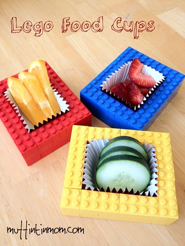Lego Party Food Cups 