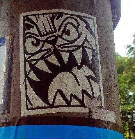 Hamster Street Art