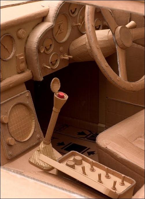 cardboard sculpture14