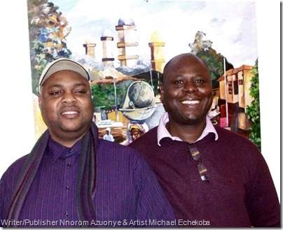 Nnorom Azuonye and Mike Echekoba