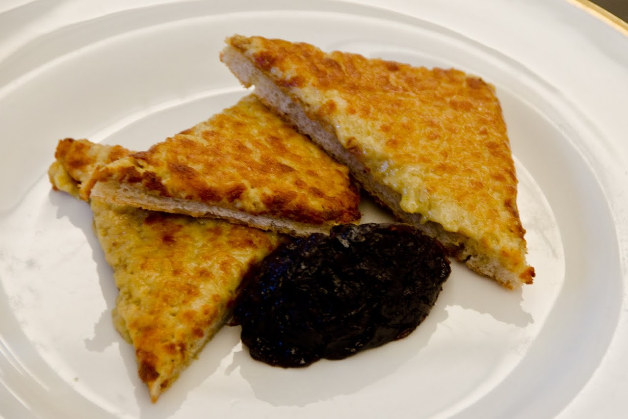 Welsh rarebit at Fortnum & Masons