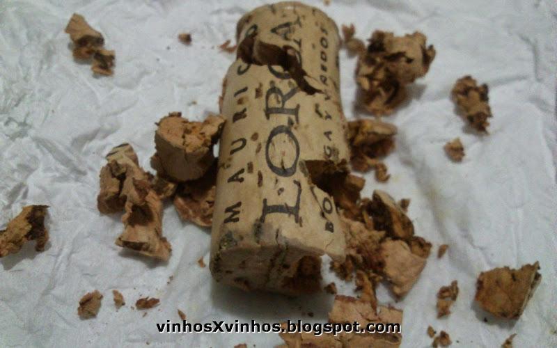 Rolha do vinho