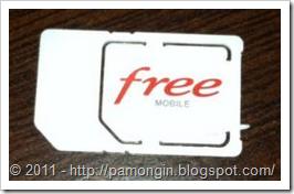 Carte sim FreeMobile