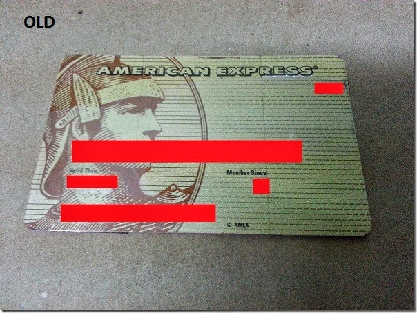 Old credit card