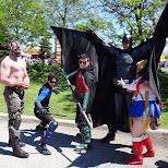 batman and crew in Toronto, Ontario, Canada