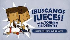 ¡Buscamos jueces para torneo de debate!