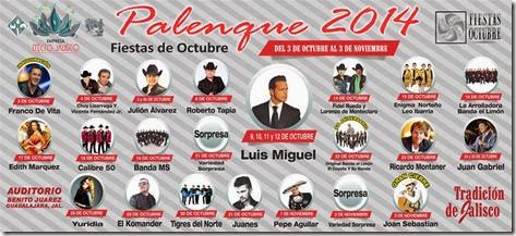 Palenque Fiestas de Octubre