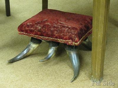 Horny Footstool