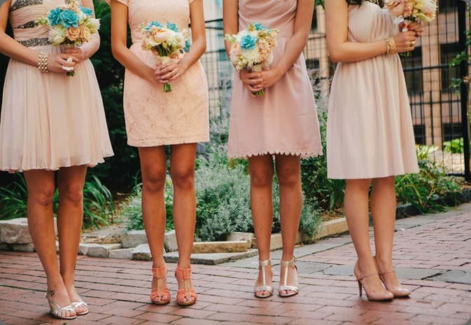 blush dresses & shoesv Spencer Combs photo and a day in provence floral design