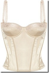 Stella McCartney josephine marrying satin corset £185