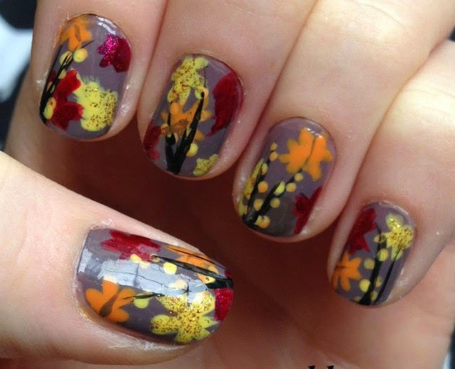 Nail designs fall 2015 nail arts autumn fall inspired nail art designs trends ideas prinsesfo Choice Image