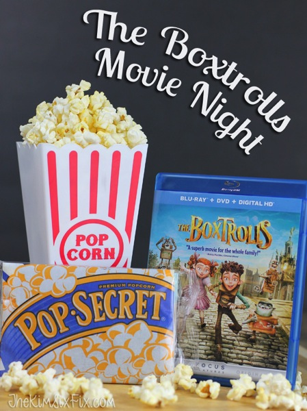 Boxtrolls movie night
