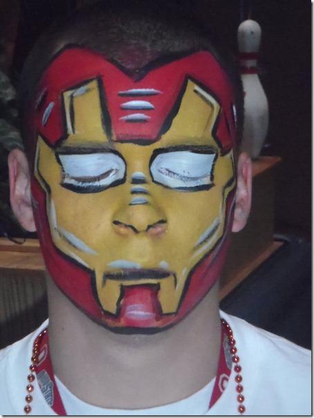 maquillaje de iron man (5)