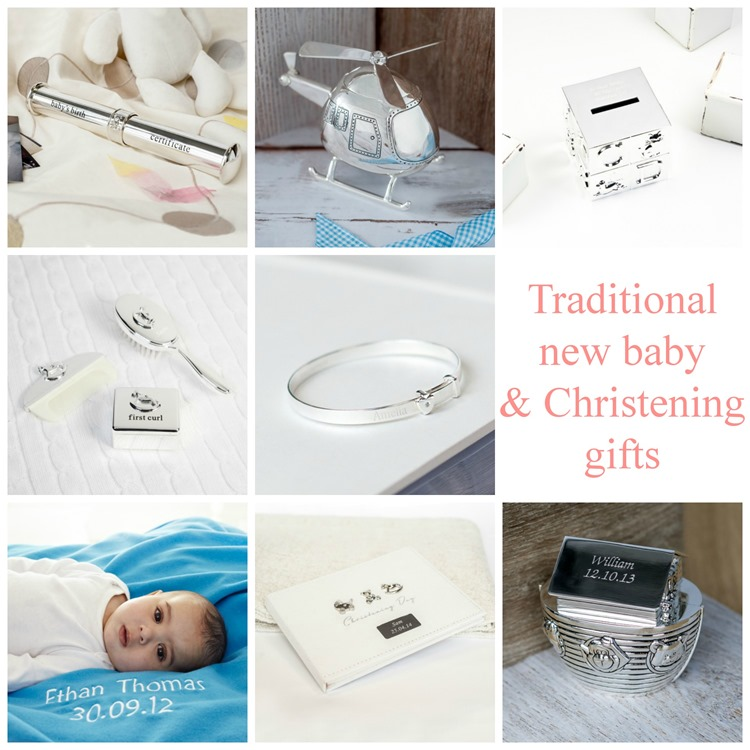 Traditional new baby and Christening gifts from 1styears