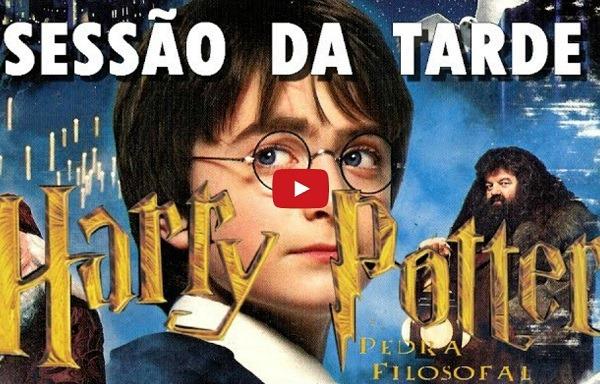 Harry Potter e a Pedra Filosofal na Sessão da Tarde