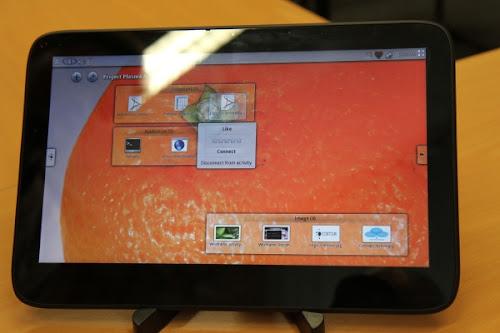 KDE Plasma Active su Tablet Android