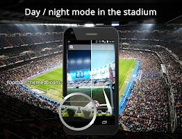 Screenshot of UR 3D Football Cup Live Theme
