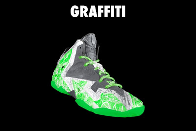 nike lebron 11 id graffiti 4 16 NIKEiD LeBron XI Graffiti in 7 Different Ways