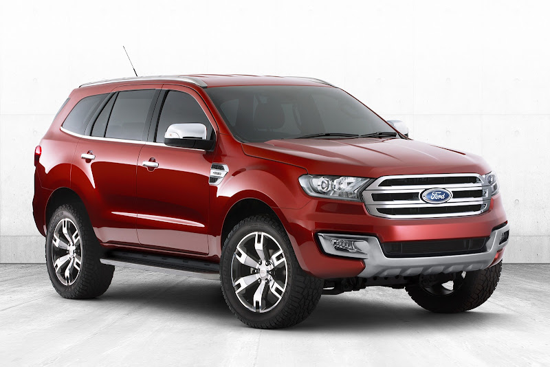 new car releases in australia 2015Ford Shows RangerBased Everest SUV Concept in Australia May Go