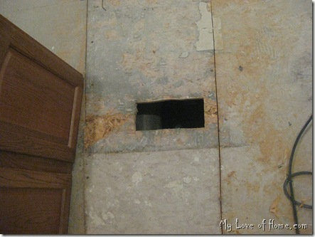 air duct in floor