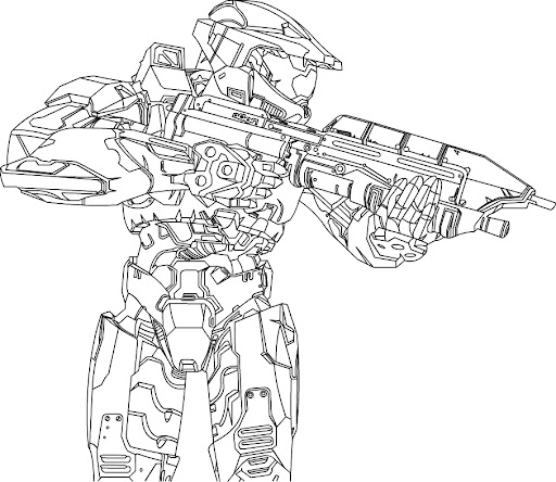 Master chief helmet coloring pages coloring pages for Master chief coloring pages