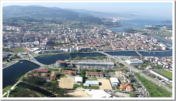 Panorámica de Pontevedra
