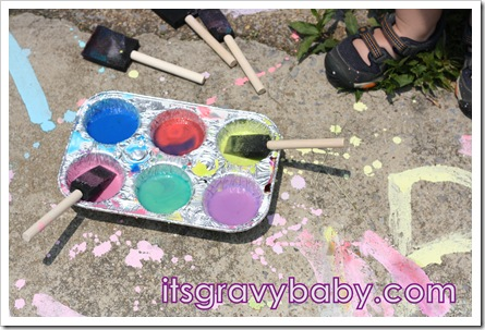Liquid Sidewalk Chalk 1