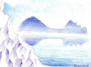 Iluzia muntelui - Un munte antropomorf inspirat de muntele in forma de mamelon care se vede de la Rasnov