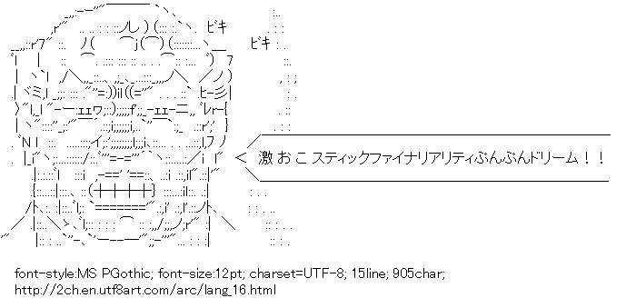 Lang,Geki Oko-stic Finaleality Punpun Dream