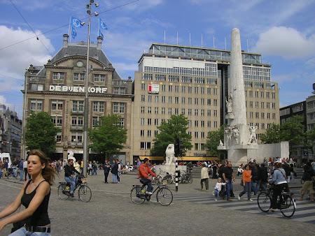 Piata Centrala Amsterdam - Dam