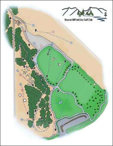 Beacon Hill Park Disc Golf Course