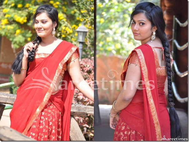 Red_Half_Saree