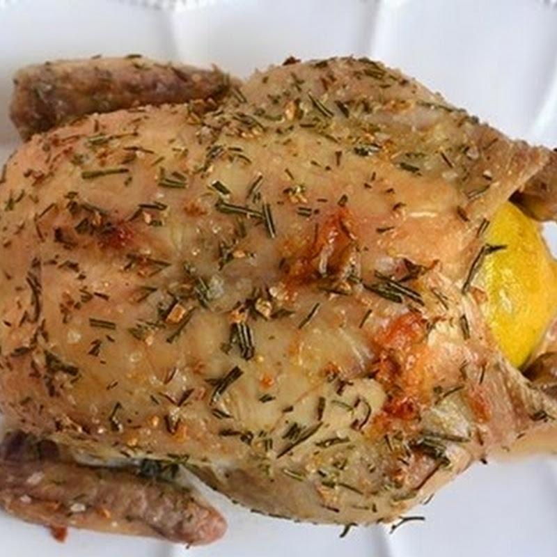 Κοτόπουλο με λεμόνι