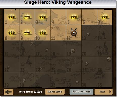 Siege Hero Viking Vengeance Mappa