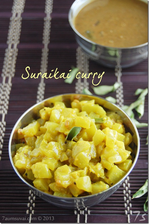 Suraikai curry | Bottle gourd stir fry