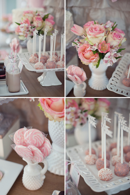 Semplicemente Perfetto Lovely Milk Pink Gray Party 05