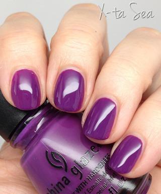 China Glaze X-Ta-Sea nail polish