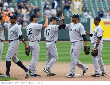 'New York Yankees' photo (c) 2012, Keith Allison - license: http://creativecommons.org/licenses/by-sa/2.0/