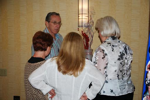 Bob Brock, Cindy Burris, Tona Chester and Jackie Brandt at the