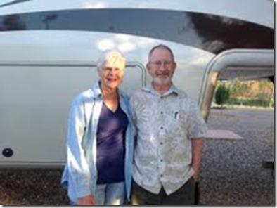 Jan and Harris in Camp Verde