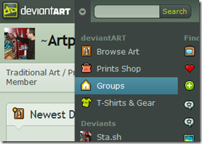 deviantart groups