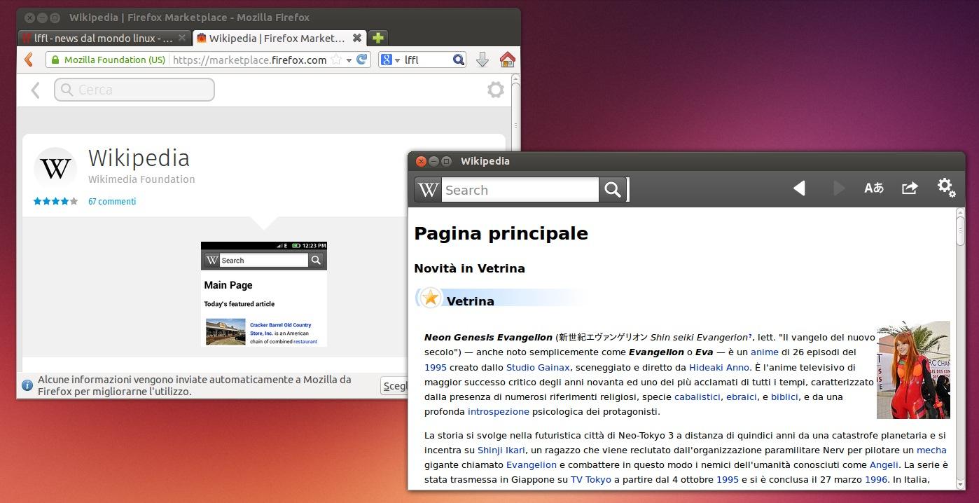 Firefox Marketplace - Applicazioni