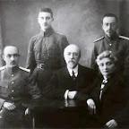 Леонид Васильевич Смирнов с женой и сыновьями