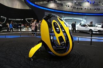 Hyundai E4U Concept Segway